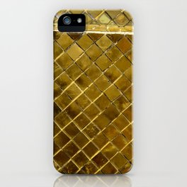 Gold Tile iPhone Case