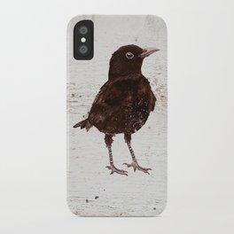 Black Bird Blakely (Vintage Edition) iPhone Case