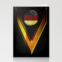 germany Stationery Cards featuring Germany by ilustrarte