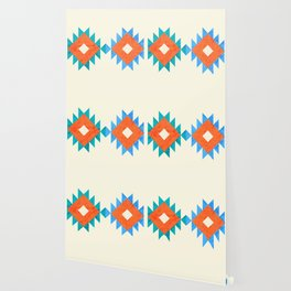 geometry navajo pattern no3 Wallpaper