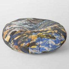Crystal Clear Pedernales Floor Pillow