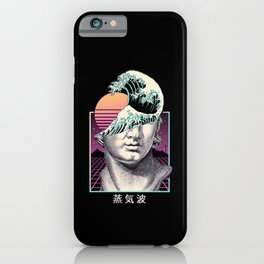 Great Vaporwave iPhone Case