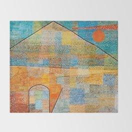 Paul Klee Ad Parnassum Throw Blanket