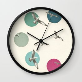 Circling Wall Clock