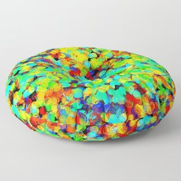 I Want To Be A Rainbow But I Don't Know How Floor Pillow