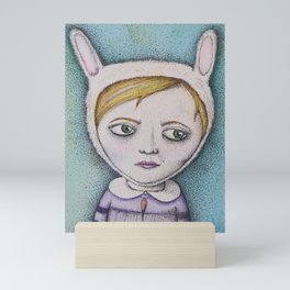 Rabbitgirl Mini Art Print