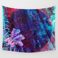 jelly fish Wall Tapestries featuring Jelly by Hyla Zest