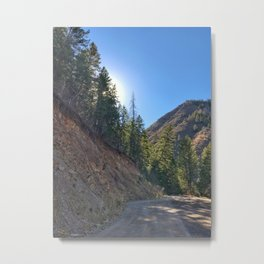 Light the Way - Red Mountain, Glenwood Springs, CO Metal Print