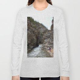 Hidden Propect Hole at the Sunnyside Mill at Eureka Long Sleeve T-shirt