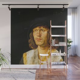 Hans Leonhard Schäufelein - Portrait of a Man Wall Mural