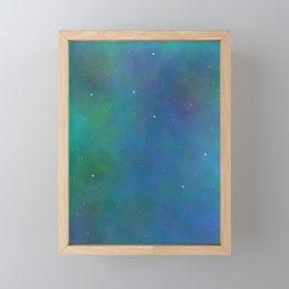 Galaxy Framed Mini Art Print