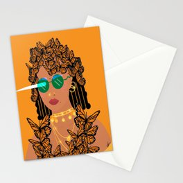 No Effect, Just Monarchy Stationery Cards