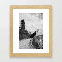 Rocket Launcher Framed Art Print