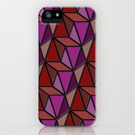 Geometrix 167 iPhone Case