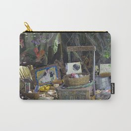 Rabbit's Storytelling Throne, No. 17 Carry-All Pouch