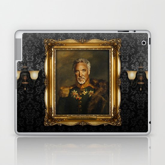 Sir Tom Jones - replaceface Laptop & iPad Skin
