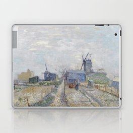 Montmartre - Windmills and Allotments by Vincent van Gogh Laptop & iPad Skin