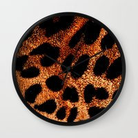 furry Wall Clocks featuring FURRY by Catspaws