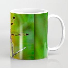 Gold Heart Dragonfly ~ Ginkelmier Inspired Coffee Mug