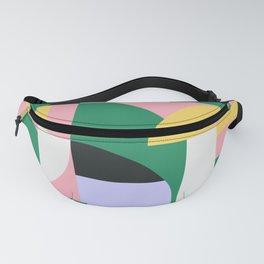 Bauhaus Polygon Shapes Fanny Pack