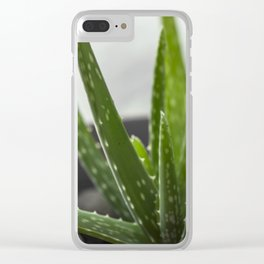 Aloe Clear iPhone Case