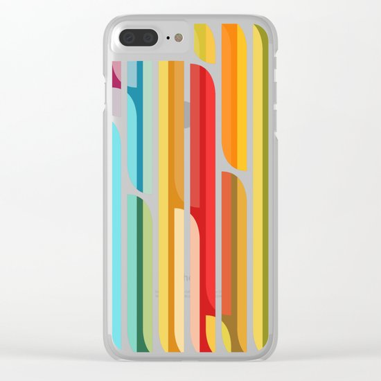 Test Tube Tune Clear iPhone Case