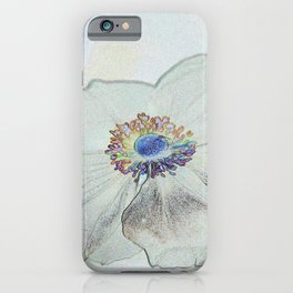 Malva Drawing iPhone Case
