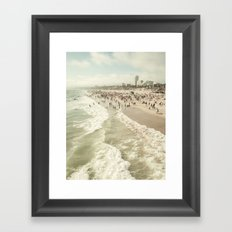 Jump In Framed Art Print