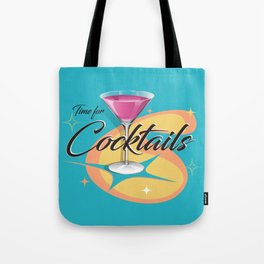 Time for Cocktails Tote Bag