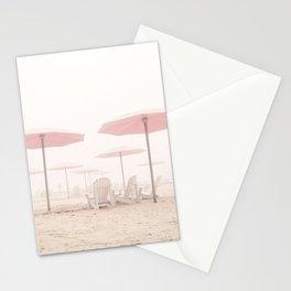 Foggy Beach Stationery Cards