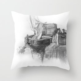 Packed Up Throw Pillow