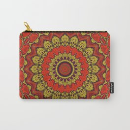 Mandala Fractal in Indian Summer 03 Carry-All Pouch