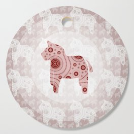 Toy Horse Pattern Cutting Board
