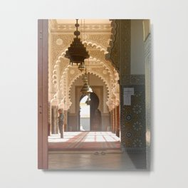 Mosque in Tangier, Morocco Metal Print