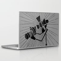 photograph Laptop & iPad Skins featuring Photograph lighting by barmalisiRTB