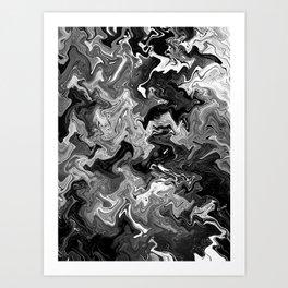 Muddled Three Art Print