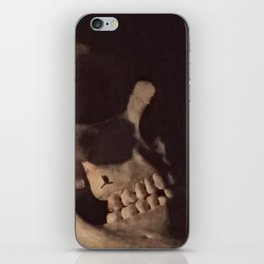 Catacomb Culture - Real Human Skull Oddity iPhone Skin