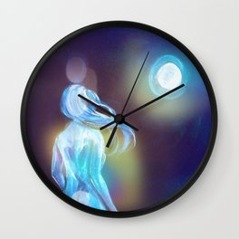 Light Activation Wall Clock