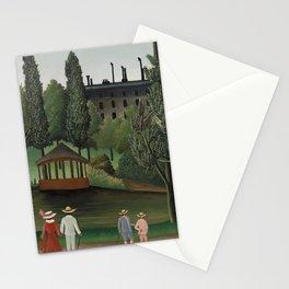 View of Montsouris Park, the Kiosk (Vue du Parc Montsouris, Le Kiosque) (ca. 1908–1910) ) by Henri R Stationery Cards