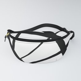 A Harmony of Lines and Shapes Fanny Pack