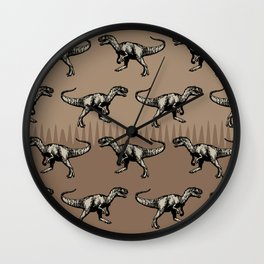ChocoPaleo: Allosaurus Wall Clock