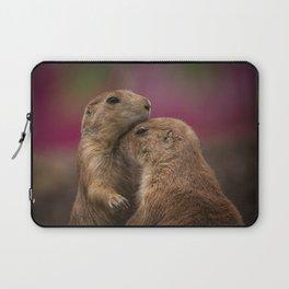 Loving Prairie Dogs Laptop Sleeve