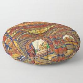 Nicholas Roerich - Snegurochka - Digital Remastered Edition Floor Pillow
