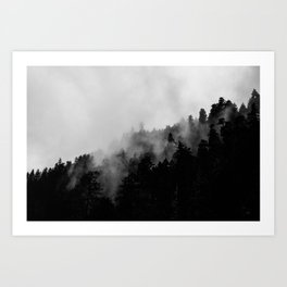 Eagle Creek Fog Art Print
