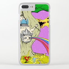 Cosmic Odin Clear iPhone Case