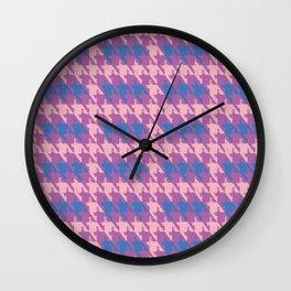 Where is the reindeer of Santa?_M LP&Purple Wall Clock