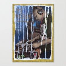 DEAD RAPPERS SERIES - Dj Screw Canvas Print