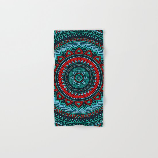 Hippie mandala 35 Hand & Bath Towel
