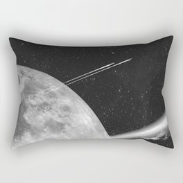 Space Mission-Hyperloop Rectangular Pillow