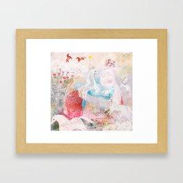 Chevaux Framed Art Print